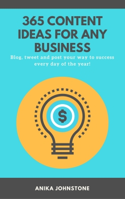 Book cover image - 365 Content Ideas for any Business